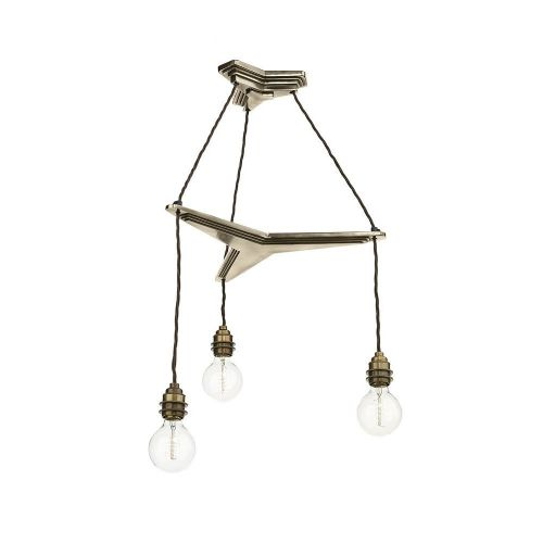 David Hunt Lighting, Propellor 3 Light Suspension Bronze, PRO0363 (Hand made, 7-10 day Delivery)